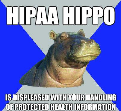 Hungry, Hungry HIPAA!