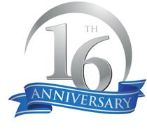 Practice Pro 16 year anniversary